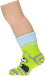 sokken uil fluo citroen  Kousen  Kousen/sokken