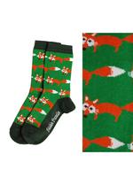 Sokken vos groen  Kousen  Kousen/sokken