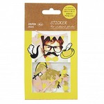 Stickertjes Flake Yellow  Karton  Kaartjes enzo