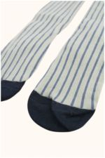stripes tights pistacho/light navy  Kousen  Kousenbroeken - Panty's