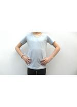 t-shirt zeer lichtgrijsblauw  Kousen  Shirts