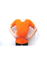T-shirt oranje  Kousen