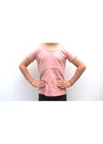 t-shirt oud roze  Kousen