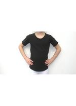 T-shirt zwart  Kousen