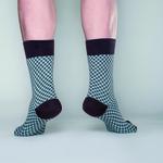 Take Dad Chocolade/lichtblauw  Kousen  Kousen/sokken