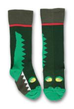 talkie walkie kniekous krokodil groen  Kousen  Kniekousen