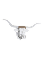 Tex Longhorn White large  Karton  Interieurdecoratie