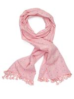 Tof sjaaltje roze  Kousen