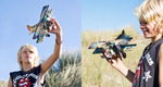 Totem dubbeldek vliegtuig 'Aero'  Karton  Speelgoed / creatief
