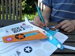 Vliegtuigjes  Karton  Speelgoed / creatief