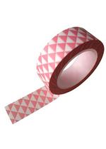 washi/masking tape driehoekjes roze  Karton  Masking tape/Washi tape
