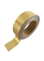 washi/masking tape gold foil  Karton