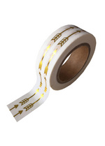 washi/masking tape gold foil arrow  Karton