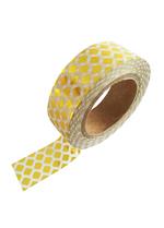 washi/masking tape Gold foil print  Karton  Masking tape/Washi tape