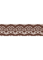 Washi tape - Lace brown  Karton  Masking tape/Washi tape