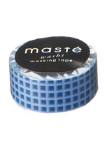 Washi tape - Nostalgic Navy Checkered  Karton