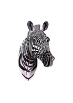 Zoe Jr Zebra medium  Karton  Interieurdecoratie